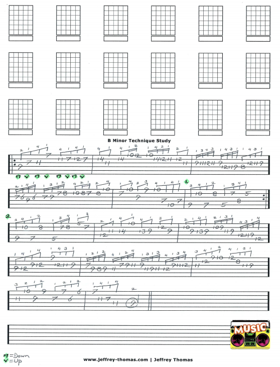 Free Shred Guitar Tab