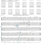 Bullet For My Valentine Tears Don T Fall Free Guitar Tab By Jeffrey