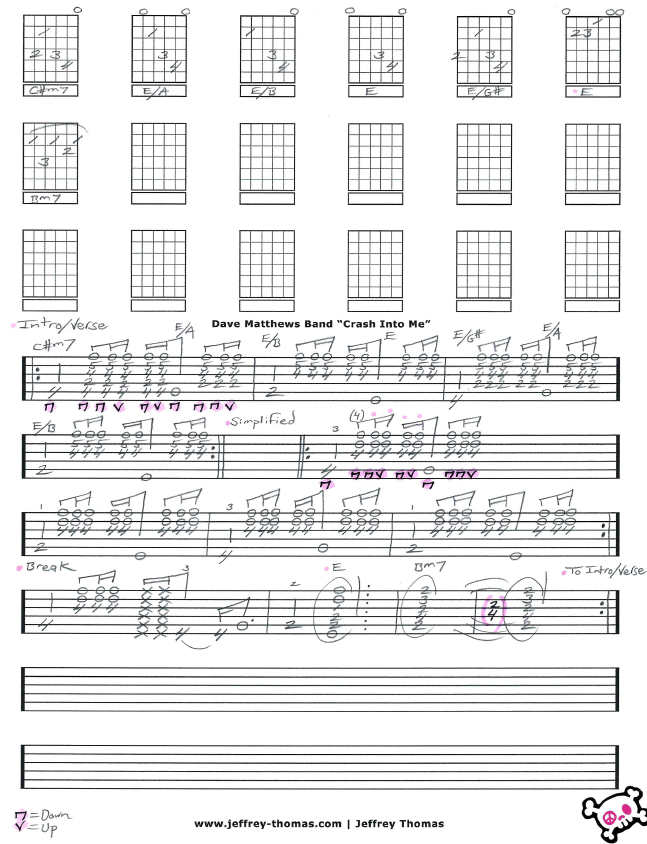 Crash Guitar Chords Images Guitar Chords Finger Placement
