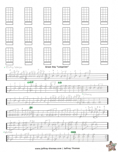 Green Day Free Bass Tab