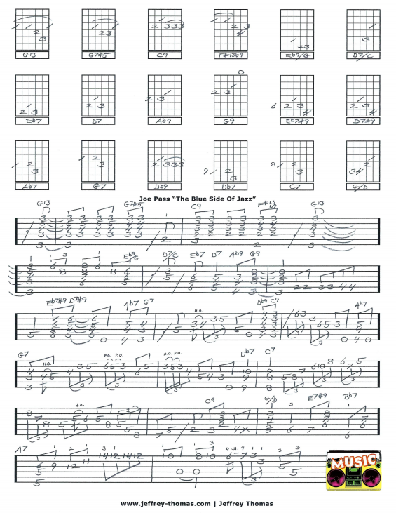 Joe Pass Jazz Guitar Tab
