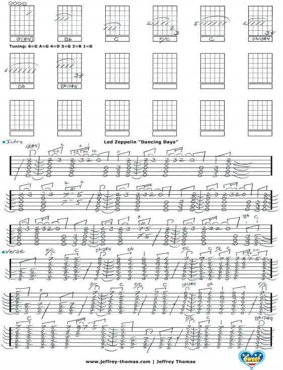 Led Zeppelin Guitar Tab