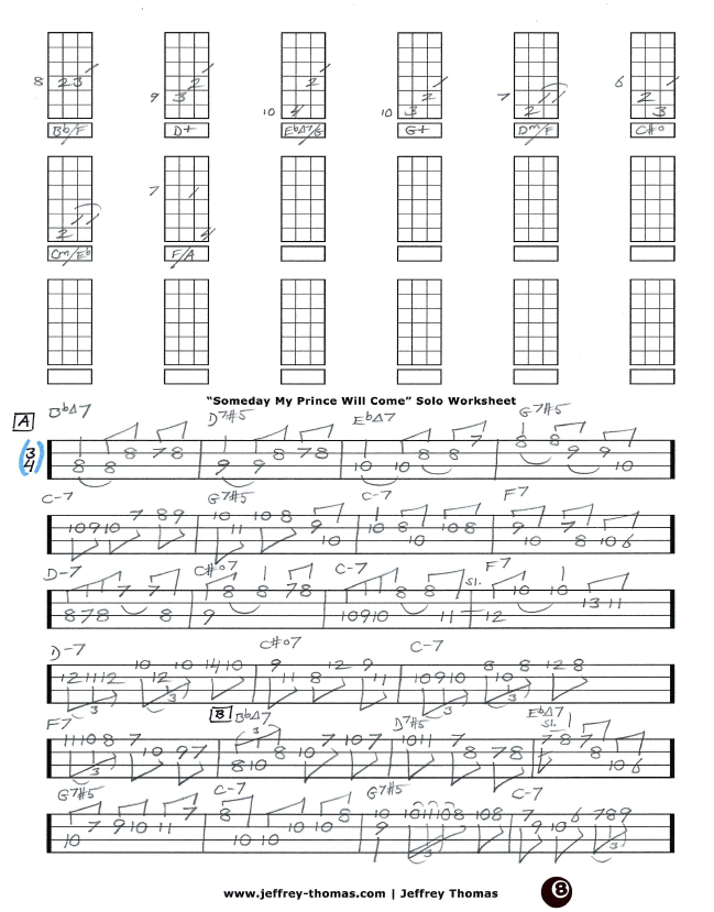 Jazz Bass Tab