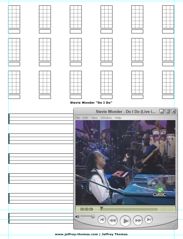 Free Bass Tab for Do I Do by Stevie Wonder