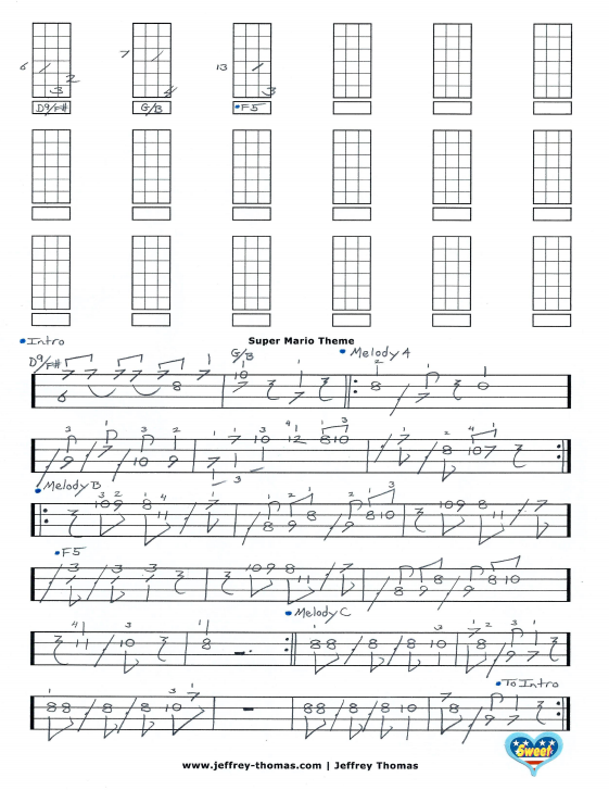 Ukulele : ukulele tabs over the rainbow Ukulele Tabs Over plus ...