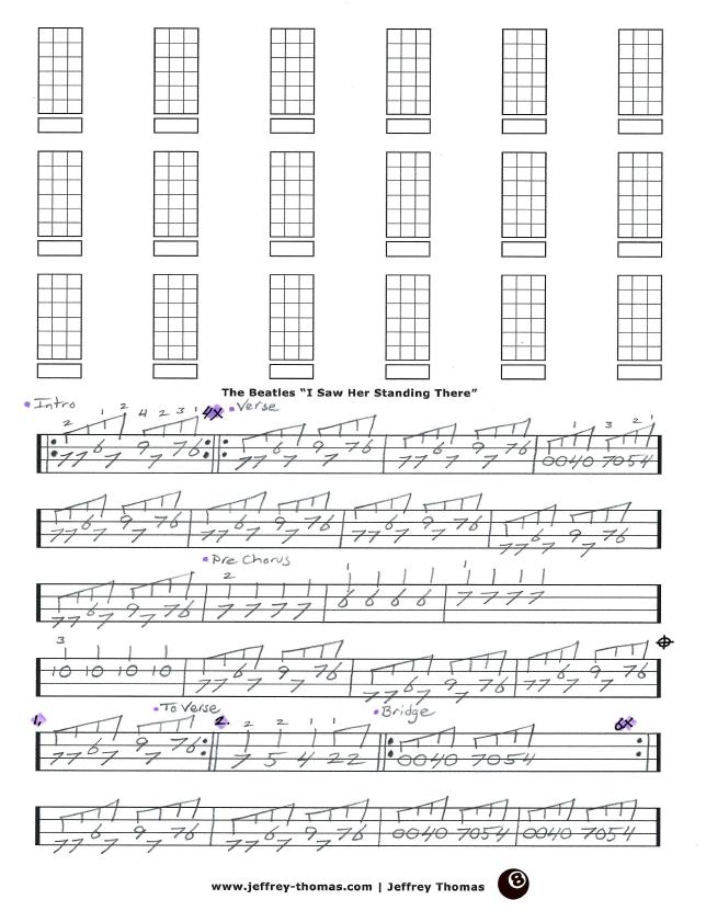 Beatles Bass Tab