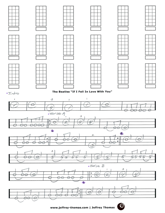 The Beatles Bass Tab If I Fell In Love With You