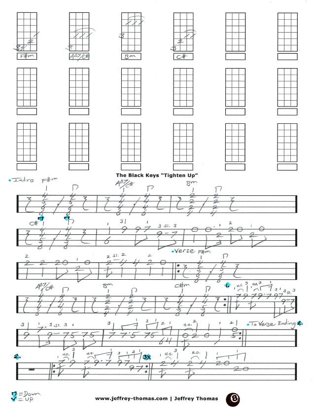 The Black Keys Ukulele Tab