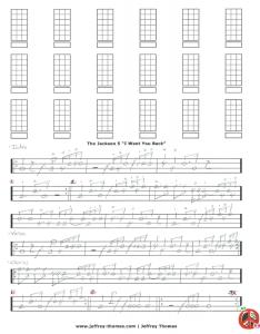 The Jackson 5 Bass Tab