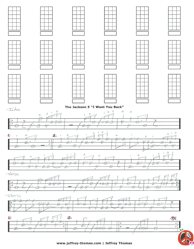 The Jackson 5 Bass Tab