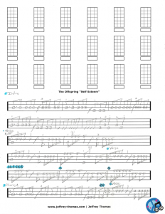 The Offspring Bass Tab
