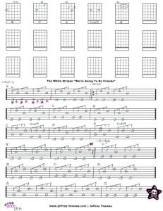 White Stripes Guitar Tab