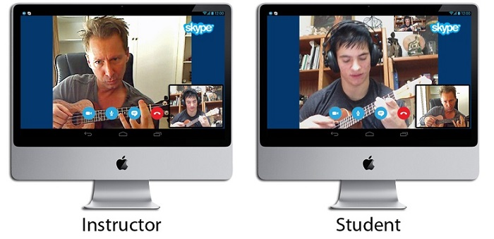 Ukulelemate Free Skype Ukulele Lesson with Jeffrey Thomas
