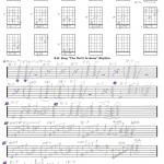 B B  King Rhythm Free Guitar Tab