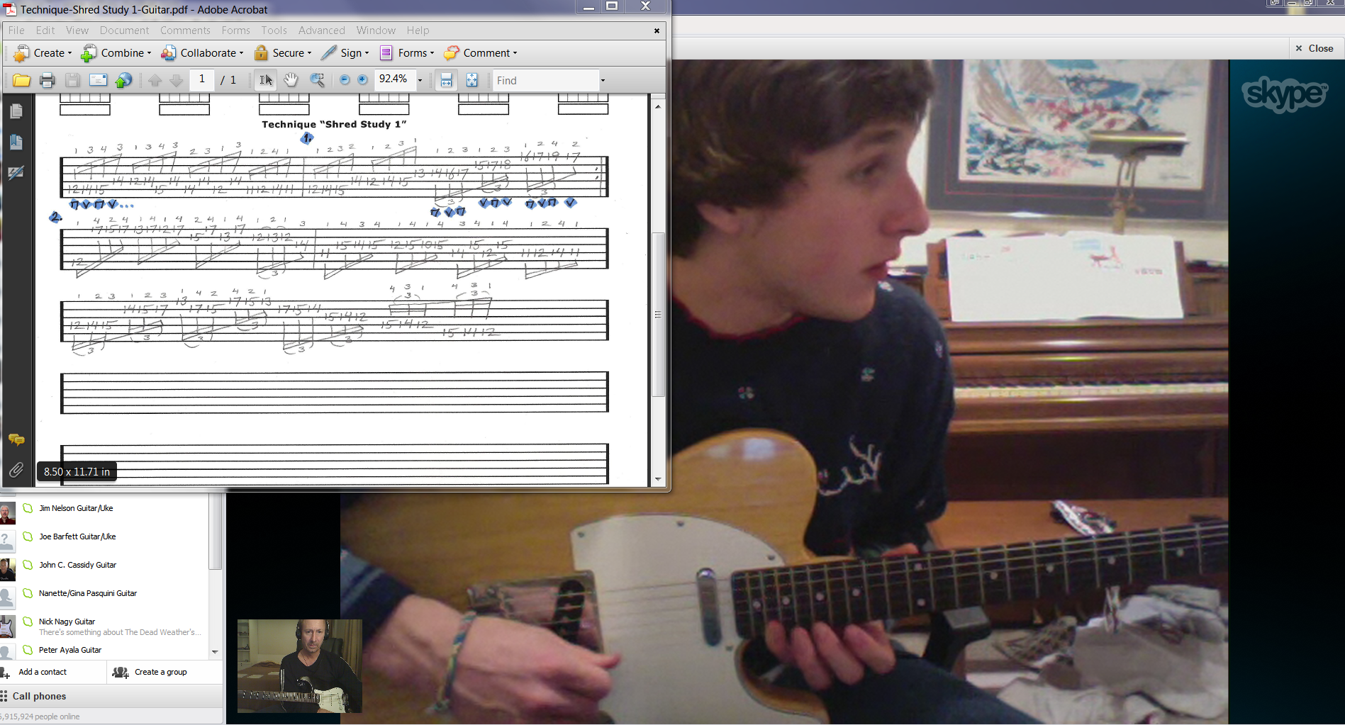 Online Guitar Lessons with Jeffrey Thomas