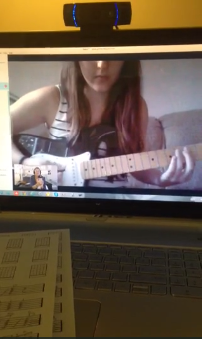 Skype Guitar Lessons by Jeffrey Thomas