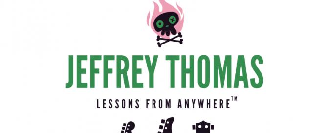 Skype guitar, bass and ukulele lessons with Jeffrey Thomas