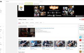 YouTube Guitar Bass and Ukulele Lessons by Jeffrey Thomas