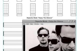 Depeche Mode Enjoy The Silence Free Ukulele Tab