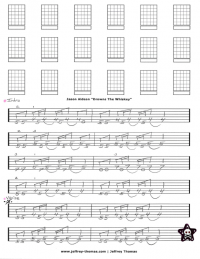 Jason Aldean Drowns The Whiskey Free Guitar Tab